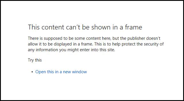 SSL Browser Error